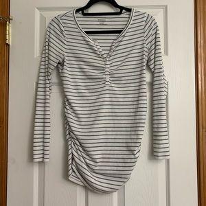 FREE W/Purchase!! Motherhood Striped Shirt